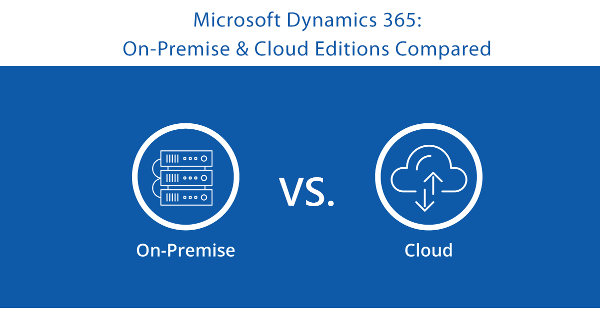 Microsoft Dynamics 365 On-Premise & Cloud