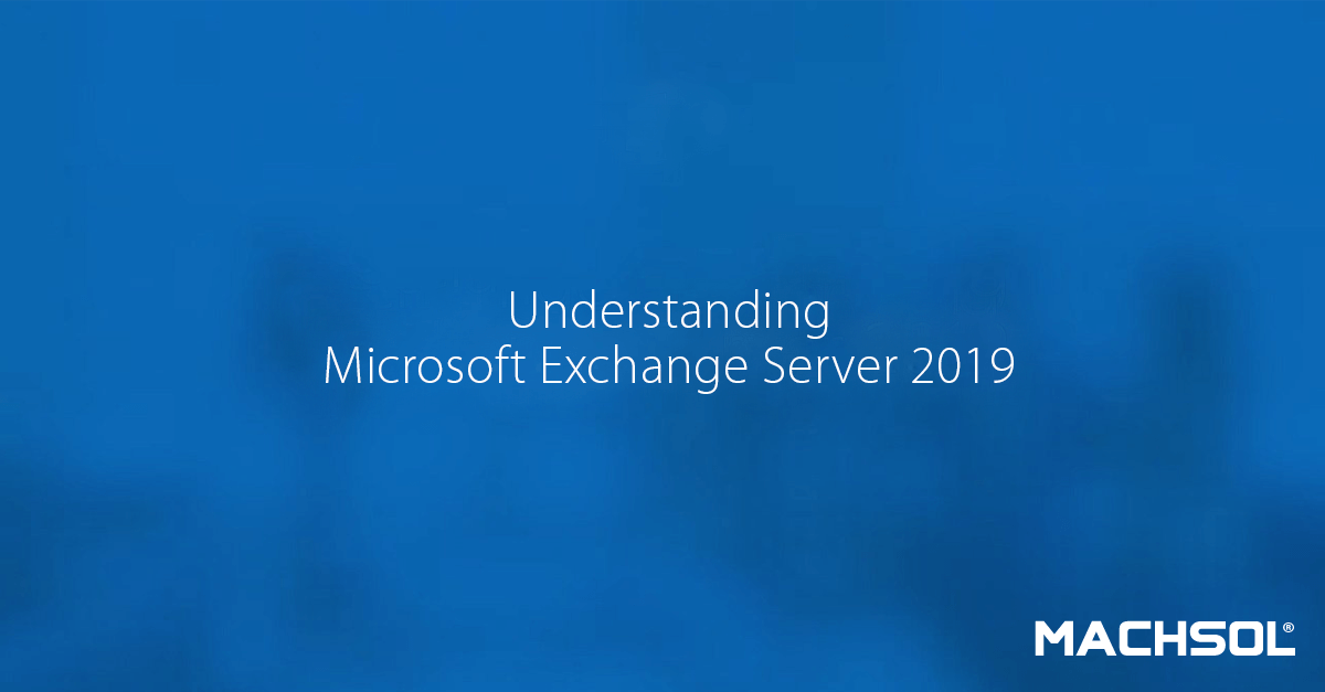 Microsoft Exchange 2019